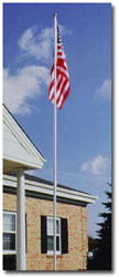 Picture of a Economy Extra Series Flagpole
