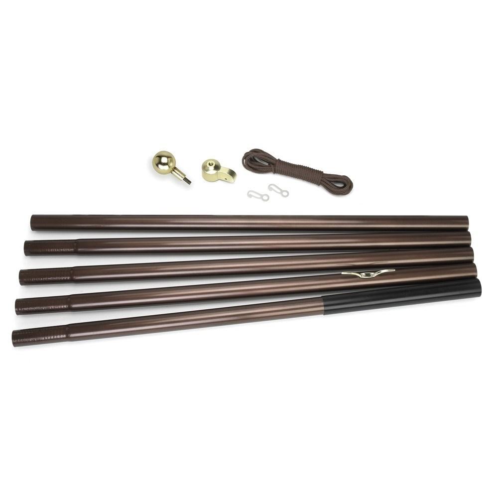 Ft u s flagpole kit bronze without flag