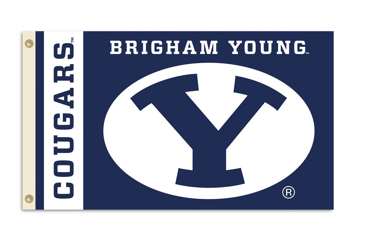Brigham Young Cougars 3 x 5 ft. College Football Team Flag