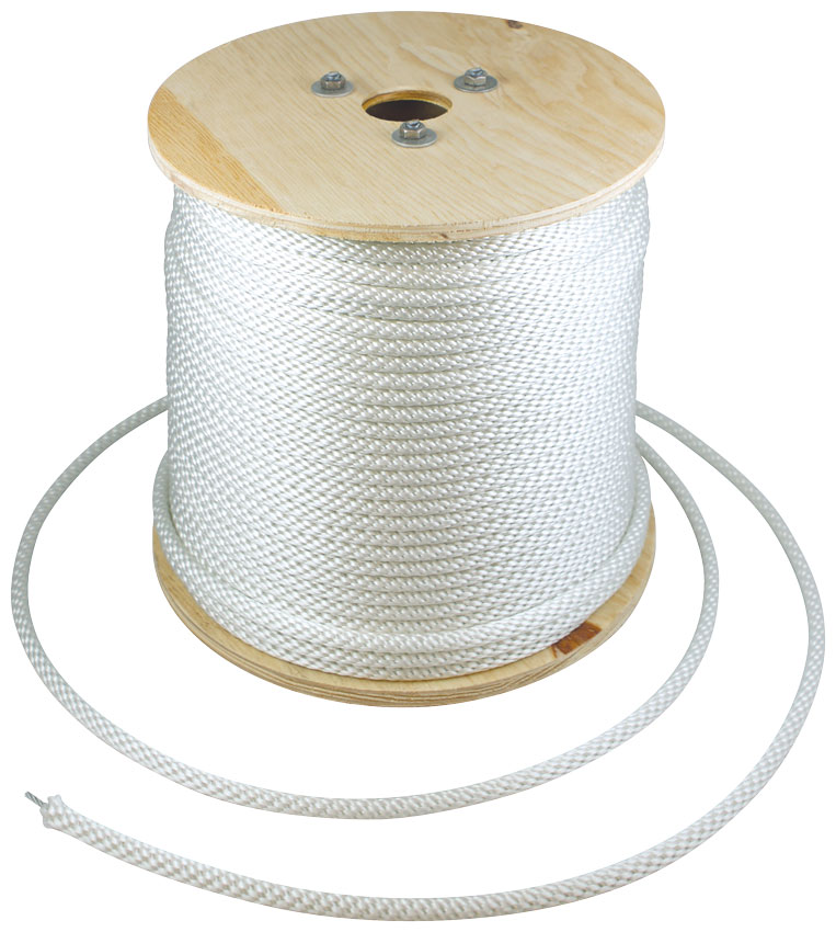 Wire Center Halyard by the Spool. (flagpole Rope)