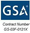 GSA Contract # GS-03F-0121X