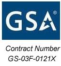 GSA Contract # GS-03F-0121X