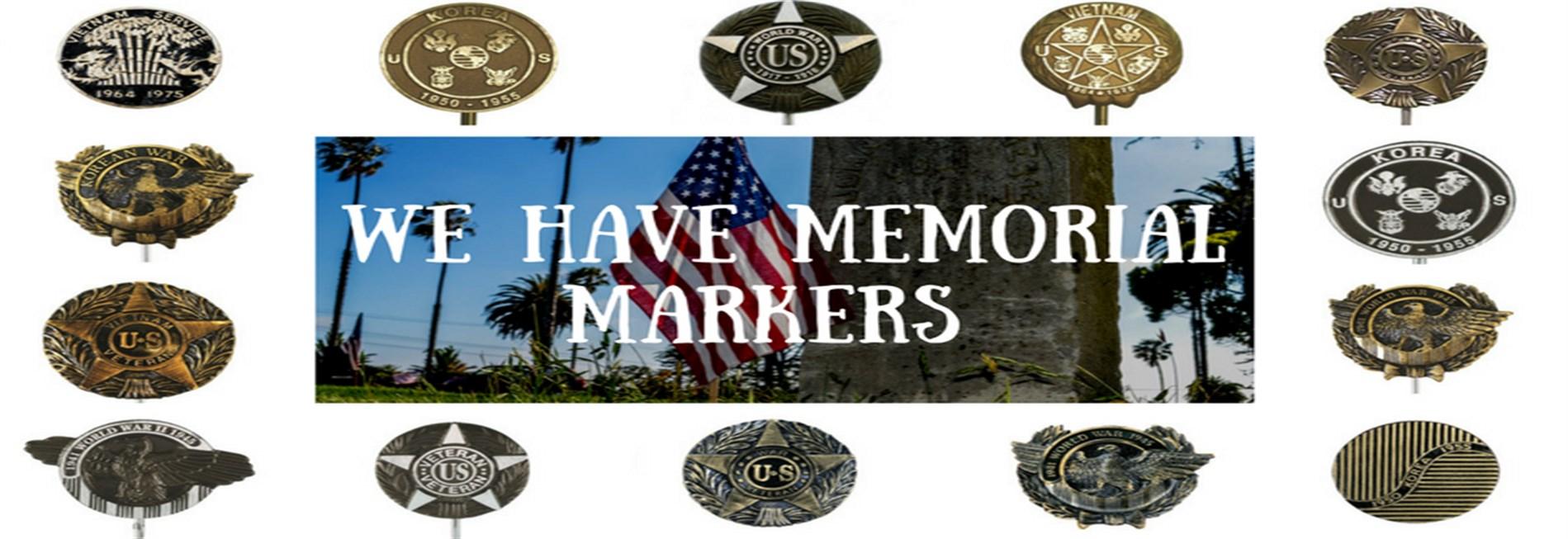 Memorial Markers