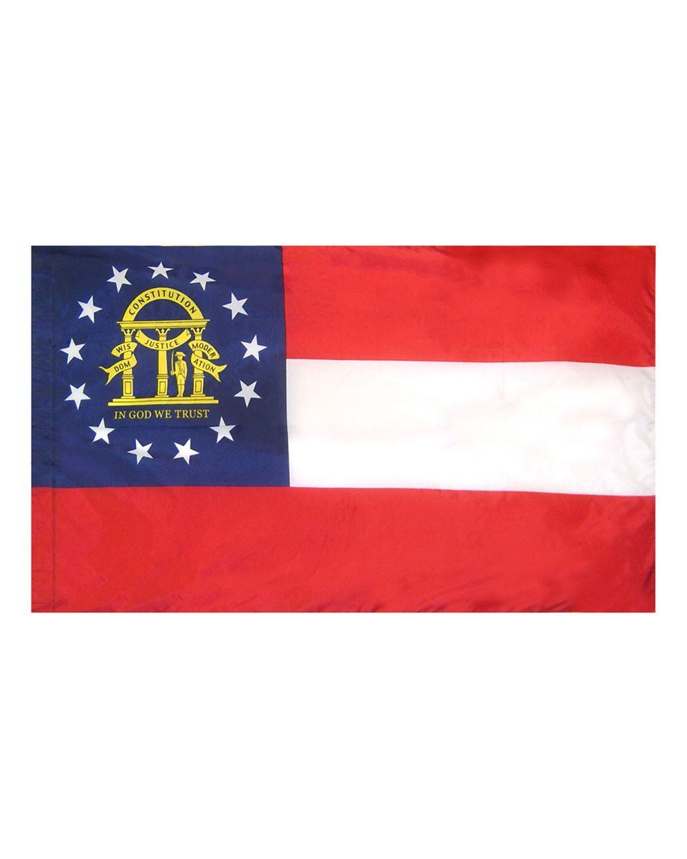 Georgia Flag 3 X 5 Ft. Indoor Display Flag