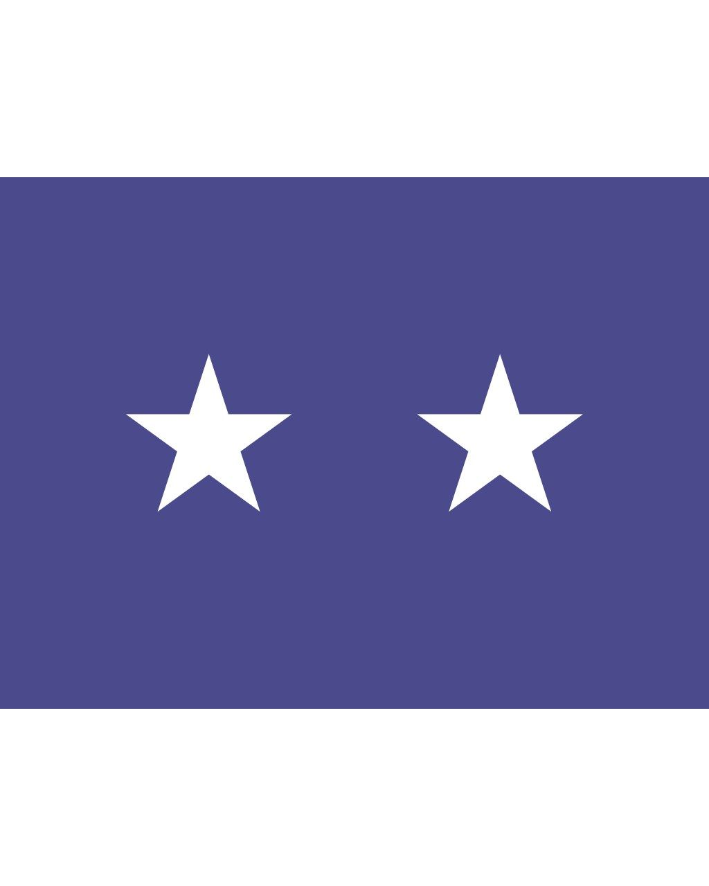 3 X 4 Ft Air Force 2 Star General Flag Indoor Display