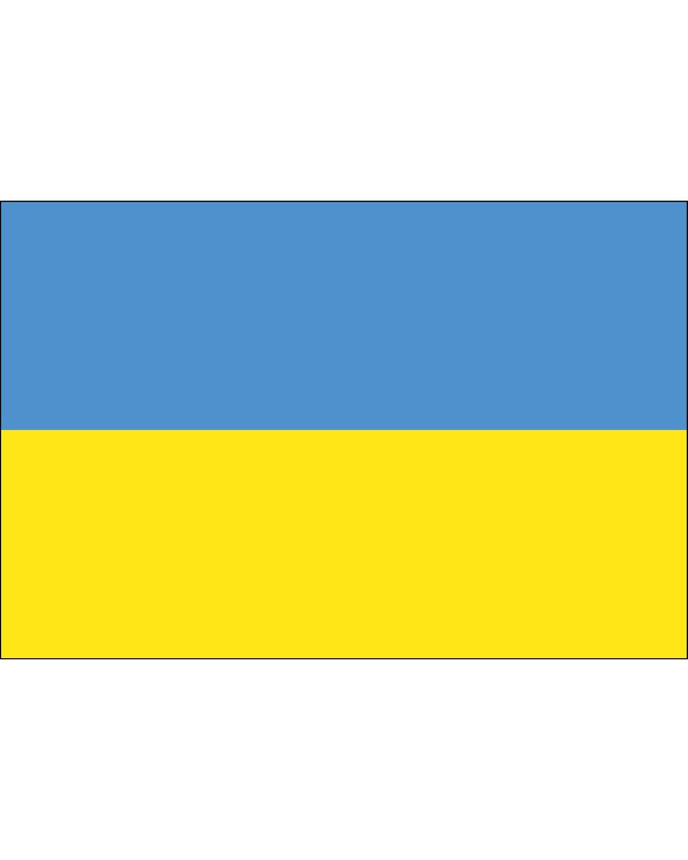 Ukraine Flag 3 x 5 ft. Indoor Display Flag
