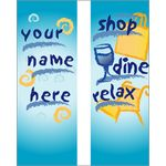Shop Dine Relax Double Banner