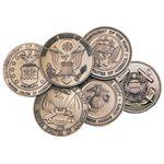 Brass Service Medallions