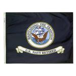 3ft. x 4ft. Navy Flag Retired with Brass Grommets