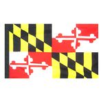 3ft. x 5ft. Maryland Flag Side Pole Sleeve