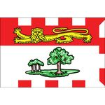 3ft. x 6ft. Prince Edward Island Flag with Brass Grommets