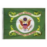 3ft. x 4ft. Army Retired Flag with Brass Grommets