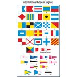 Code of Signal Flag Set - Size 14 Finished w/ Line Snap & Ring