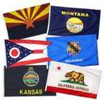 2ft. x 3ft. 50 State Flag Set