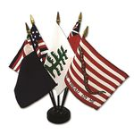 4 in. x 6 in. Historical Flag Set No. 2
