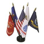 4 in. x 6 in. Armed Forces Flag Set