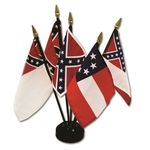 4 in. x 6 in. Flags of the Confederacy Set