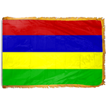 3ft. x 5ft. Mauritius Flag for Parades & Display with Fringe