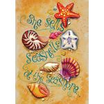She Sells Sea Shells House Flag