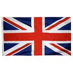 2ft. x 3ft. United Kingdom Flag with Canvas Header