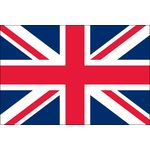 2ft. x 3ft. United Kingdom Flag for Indoor Display