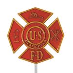 Firefighter Grave Memorial Marker
