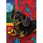 Muttisse-Dachshund House Flag