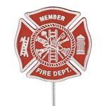 Firefighter Memorial Marker Aluminum