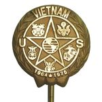Vietnam War Veteran Memorial Marker Bronze