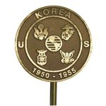 Korean War Veteran Memorial Marker Bronze