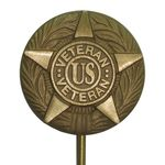 General Veteran Memorial Marker Bronze