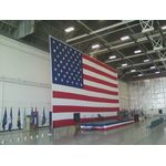 Large U.S. Flags w/ Custom Finishing