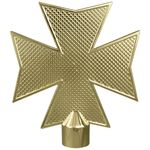 Metal Maltese Cross