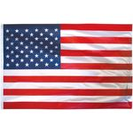 8 in. x 12 in. US Flag Outdoor Nylon Dyed