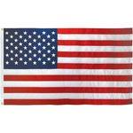 4-1/3ft. x 5-1/2ft. US Flag Nylon Heading & Grommets
