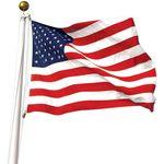 Nylon Printed US Flags