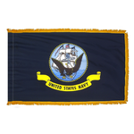 U.S. Navy Flag with Gold Fringe
