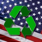 Eco-friendly U.S. Flag