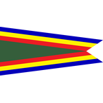 Navy Unit Commendation Pennant - Size 3