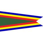 Navy Unit Commendation Pennant - Size 3