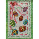 Easter Egg Decorative House Banner