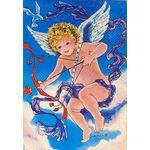 Cupid Decorative House Banner