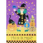 Trick or Treat Decorative House Banner
