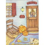 Fall Porch Decorative House Banner