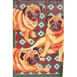Pug Pals Decorative House Banner