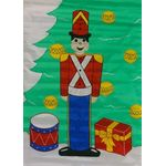 Toy Soldier Decorative House Banner