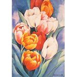Helen's Tulips Decorative House Banner