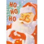 Snowflake Santa Decorative House Banner
