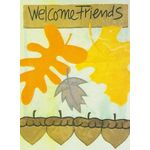 Acorn Welcome Decorative House Banner