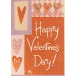 Patchwork Hearts Decorative House Banner